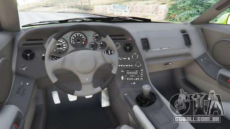 GTA 5 Toyota Supra JZA80 traseira direita vista lateral