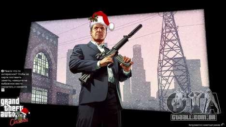 Natal telas de carregamento para GTA 5