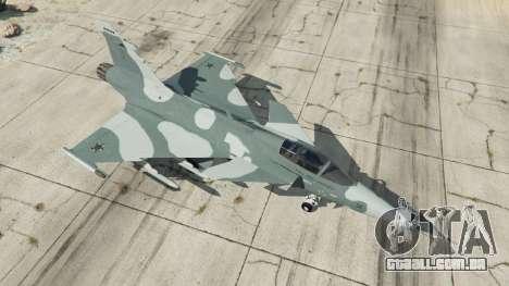 GTA 5 Saab JAS 39 Gripen NG FAB [Beta] quarto screenshot
