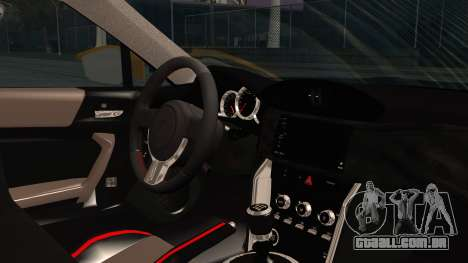 Toyota GT86 (ZN6) 2012 HD Algeria PJ para GTA San Andreas vista direita