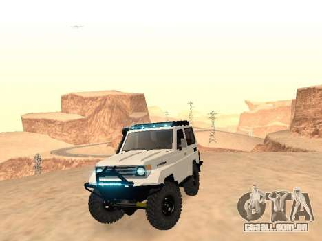 Toyota Machito Off-Road (IVF) 2009 para GTA San Andreas vista direita