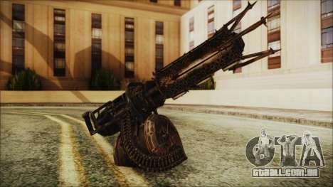 Fallout 4 Shredding Minigun para GTA San Andreas
