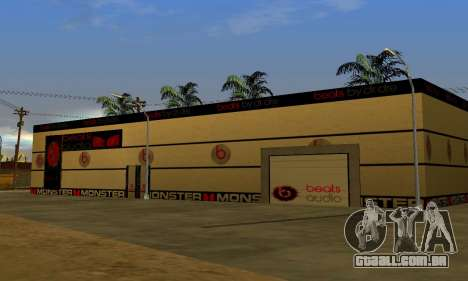 Monster Beats Studio by 7 Pack para GTA San Andreas
