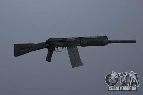 Saiga-12 para GTA San Andreas terceira tela