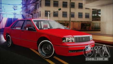 GTA 5 Albany Primo Custom No Interior para GTA San Andreas