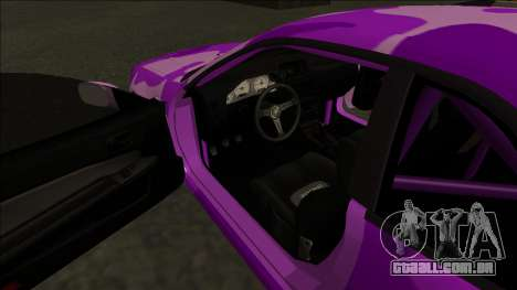 Nissan Skyline R34 Drift para GTA San Andreas vista superior