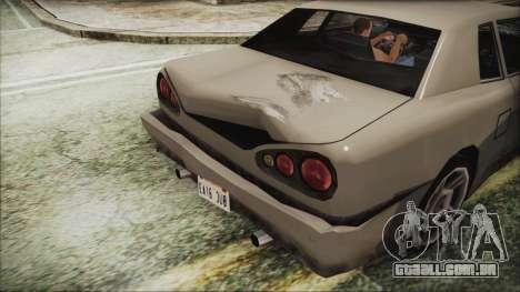 Novo arquivo de Veículo.txd para GTA San Andreas por diante tela