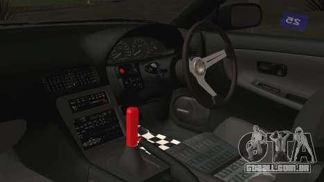 Nissan 180SX Rocket Bunny Edition para GTA San Andreas vista direita
