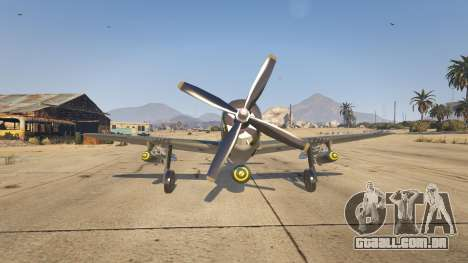 GTA 5 P-47D Thunderbolt terceiro screenshot