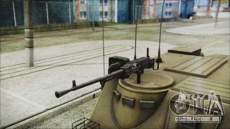 BTR-50 para GTA San Andreas vista direita