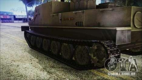BTR-50 para GTA San Andreas traseira esquerda vista