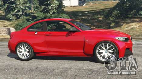 GTA 5 BMW M235i (F22) 2014 vista lateral esquerda