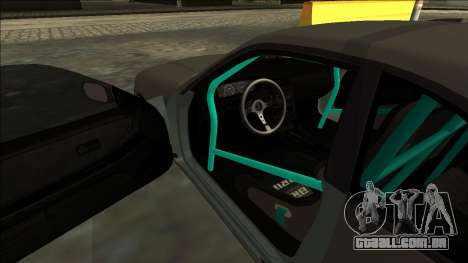 Nissan Skyline R33 Drift para GTA San Andreas vista interior