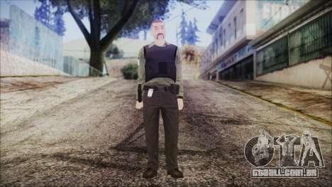 GTA 5 Ammu-Nation Seller 2 para GTA San Andreas segunda tela