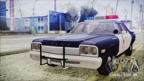 Dodge Monaco 1974 LSPD Highway Patrol Version para GTA San Andreas