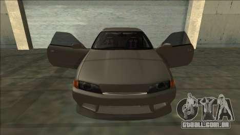 Nissan Skyline R32 Drift para as rodas de GTA San Andreas
