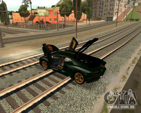 Car Accessories Script v1.1 para GTA San Andreas por diante tela