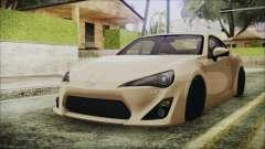 Toyota GT86 para GTA San Andreas