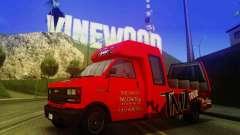TMZ Tourbus para GTA San Andreas
