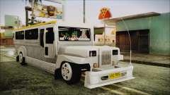 Markshop Jeepney para GTA San Andreas