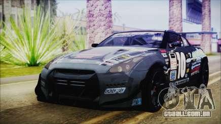 Nissan GT-R R35 Naoto para GTA San Andreas