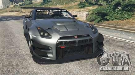 Nissan GT-R Nismo GT3 para GTA 5