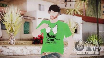 GTA Online Skin 16 para GTA San Andreas