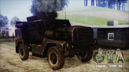 Cougar MRAP 4x4 para GTA San Andreas