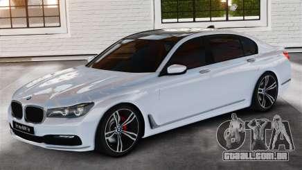 BMW 7-er 2016 v2.0 para GTA 4