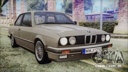 BMW 320i E21 1985 LT Plate para GTA San Andreas