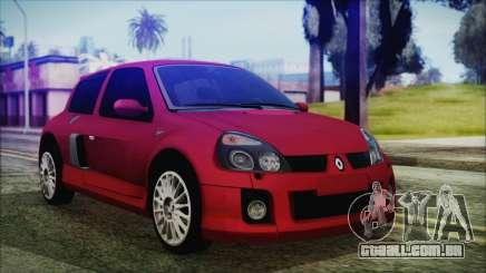 Renault Clio v6 Tunable para GTA San Andreas