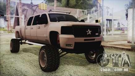 Chevrolet Silverado Triple Door para GTA San Andreas