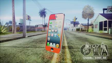 iPhone 5 Red para GTA San Andreas