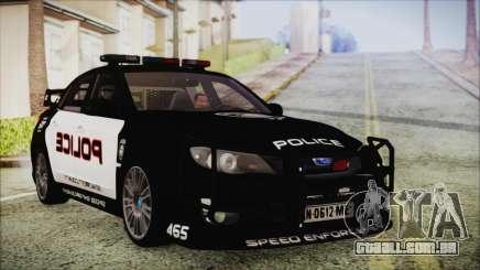 Subaru Impreza Police para GTA San Andreas