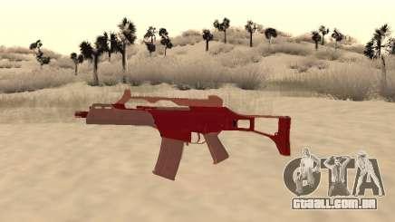 Natal G36c camo para GTA San Andreas