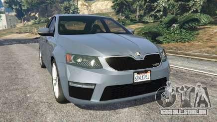 Skoda Octavia VRS 2014 [hatchback] para GTA 5