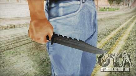 GTA 5 Knife v2 - Misterix 4 Weapons para GTA San Andreas