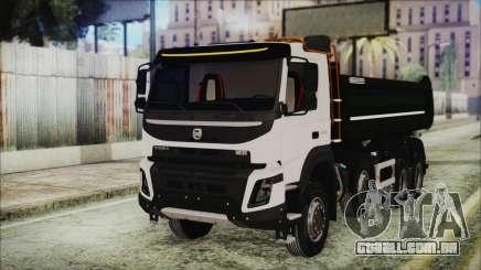 Volvo FMX Euro 6 Snow para GTA San Andreas