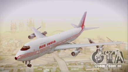 Boeing 747-237Bs Air India Samudragupta para GTA San Andreas
