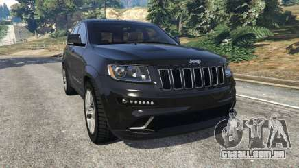 Jeep Grand Cherokee SRT8 2013 para GTA 5