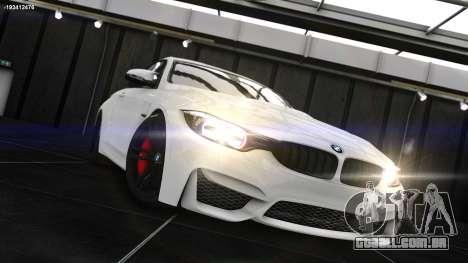 BMW M4 F82 2015 para GTA 4 esquerda vista