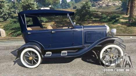 GTA 5 Ford Model T 1927 [Tin Lizzie] vista lateral esquerda