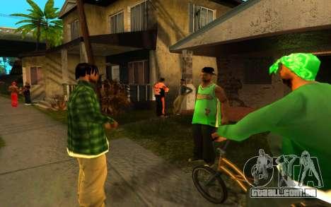 O avivamento da rua ganton para GTA San Andreas