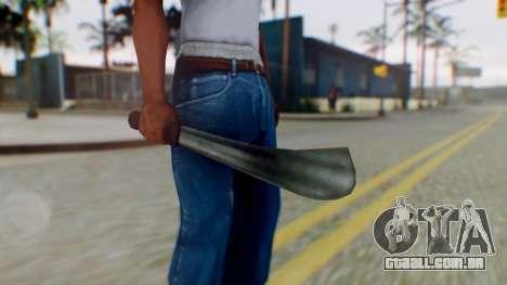 Vice City Machete para GTA San Andreas terceira tela