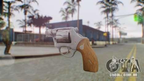 Charter Arms Undercover Revolver para GTA San Andreas segunda tela