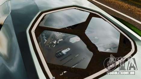 Lamborghini Asterion LP900 para GTA 4 vista de volta
