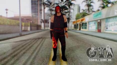 WWE Kane para GTA San Andreas segunda tela