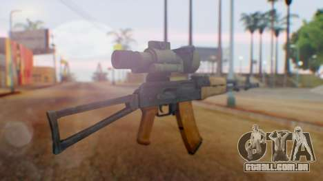 Arma OA AK-47 Night Scope para GTA San Andreas segunda tela