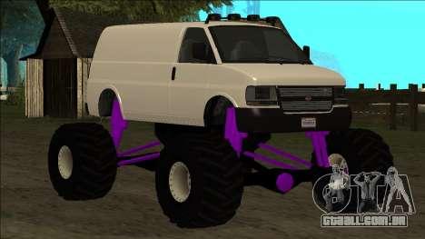 GTA 5 Vapid Speedo Monster Truck para as rodas de GTA San Andreas