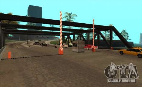 Personalizado para GTA San Andreas segunda tela